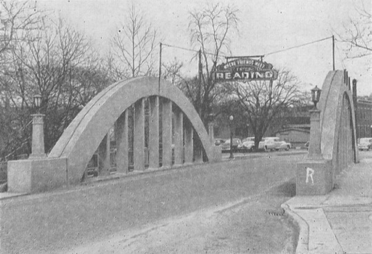 Benson Street Bridge in 1951